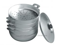 Мантоварка алюминиевая - паровая кастрюля , для диетического питания