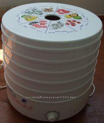 Сушка для фруктов и овощей Россия Ротор 5 лотков
