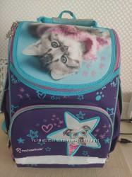Рюкзак школьный портфель Kite кайт Rachael Hale R18-500S Котик