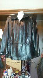 Кожаная куртка большой размер