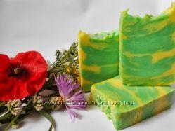 Натуральное мыло ручной работы Мохито с ментолом