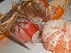 Сувенирное мыло ручной работы Мандаринка