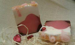 Сувенирное мыло ручной работы Валентинка для неё