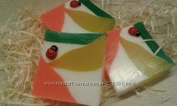 Сувенирное мыло ручной работы Пирамида любви