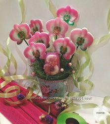 Букеты из мыльных цветов