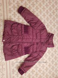 Теплые деми Куртки  chicco на 4-6 лет