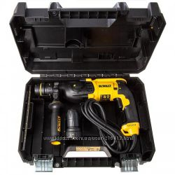Перфоратор DeWalt SDS-Plus, 800 Вт, 2, 9Дж D25134K