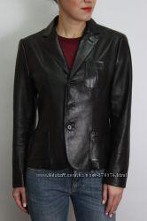 Кожаный пиджак жакет Ralph Lauren оригинал