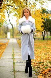 Кашемировое зимнее пальто
