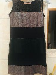 Вечернее стильное платье на девочку 8-10 лет