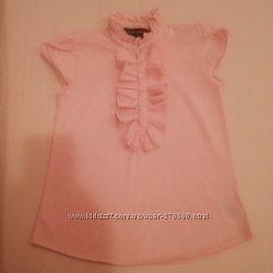 Эксклюзивная блузка Ralph Lauren на девочку 5-6 лет