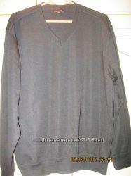 Свитер джемпер мужской шерстяной теплый стильный 50 размера