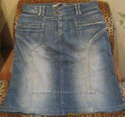 Юбка джинсовая качественная