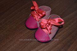 Кожаная обувь для текстильной куклы