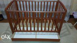 Кровать-колыбель Baby Italy из натурального дерева