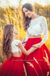 Праздничный наряд для мамы и дочери