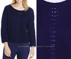 Джемпер пуловер женский вязаный синий F&F арт. тф-2035 на  р. 46-48 укр.
