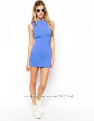 Платье трикотажное ASOS Великобритания - в наличии синее р. 46-48 укр.