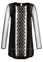 Блуза-туника стильная Tesco F&F Великобритания - в наличии р. 44-46 укр.