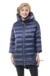 Зимняя куртка Button р 44 S-М темно-синего цвета