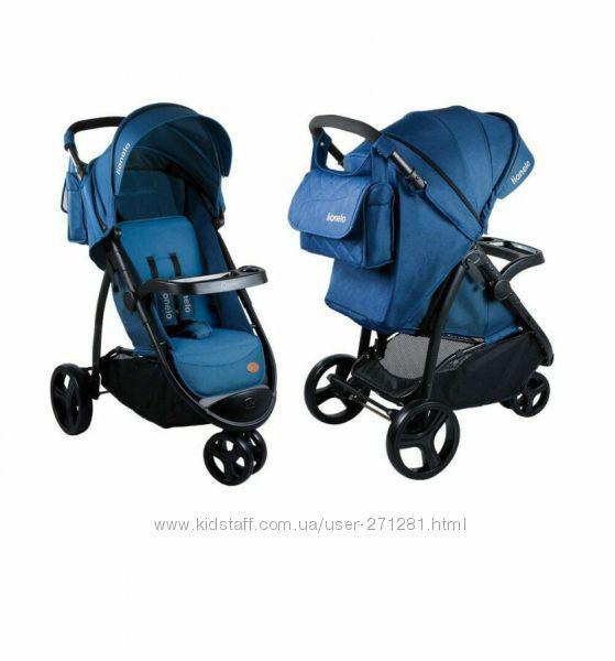 Трехколесная прогулочная коляска Lionelo LO-Liv с сумкой для мамы