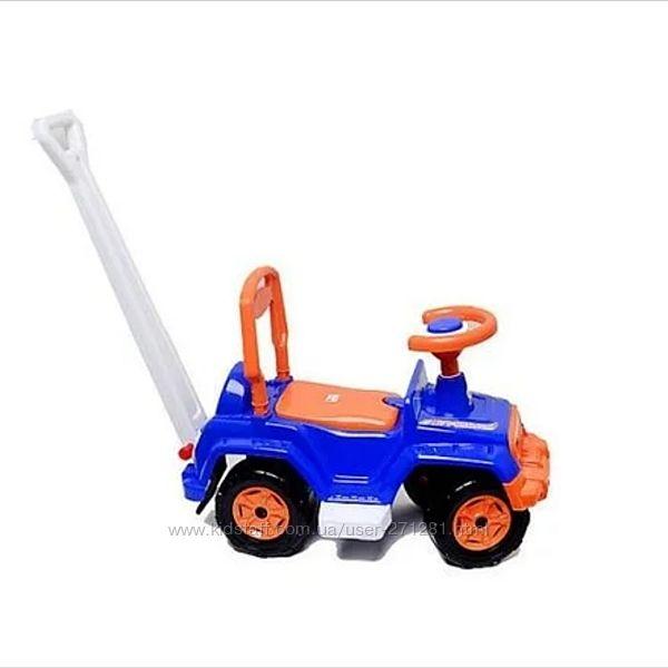 Машина-толокар с высокой ручкой Orion