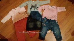 Фирменная одежда девочке 5-12 мес.