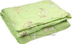 Одеяло детское шерстяное стёганное 105х140 ТМ Ярослав