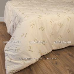 Теплое шерстяное стеганное одеяло ТМ Ярослав