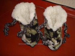 Продам теплую обувь