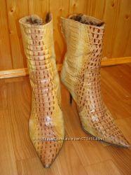 Шикарные итальянские ботинки