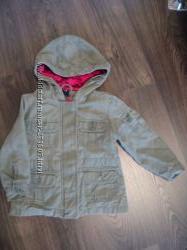 курточка котоновая в стиле милитари фирмы Gap