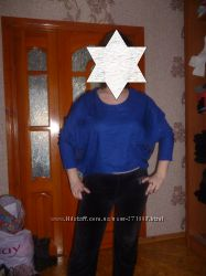 продам блузку синего цвета на разм 46-48 или L-XL