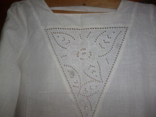 продам блузку рубашку лён на разм 48-50 или L