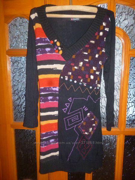 продам тёплое платье на разм 46-48 или L,  в отличном состоянии, пересылаю