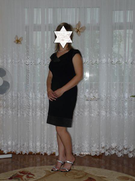 продам короткое чёрное платье на разм 44-46 или L в отличном состоянии, пер