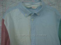 Стильные рубашки на парня H&M 14лет  рост 165-170