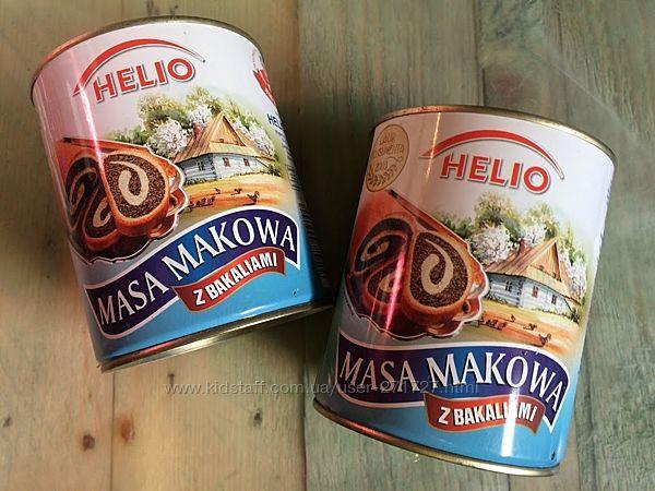 Маковая масса Helio Masa Makowa 850гр. Польша
