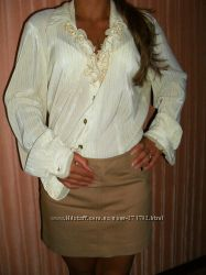 Блуза белая женская
