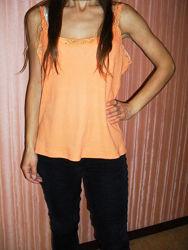 Майка оранжевая
