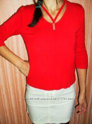 Кофта, свитерок красная
