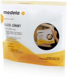 Пакеты Medela Quick Clean для стерилизации в микроволновой печи новые
