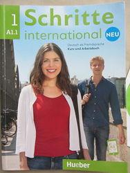 Учебник и рабочая тетрадь Schritte international Neu 1