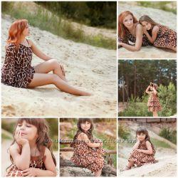 Комплект для мамы и дочки жирафовый Crazy, Gymboree
