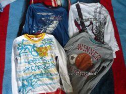 Продам лонгсливы футболки с длинным рукавом на мальчика 6-7 лет