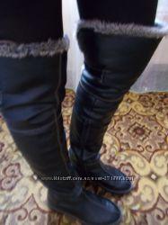 для тех кто мерзнеттеплющие зимние ботфорты40й размер