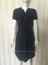 Платье сафари хаки и темно синее