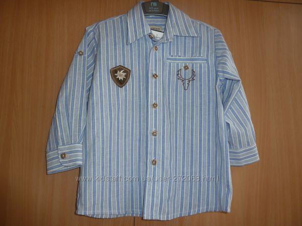 продам рубашку C&A на рост 98 - 104