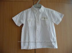 продам рубашку с коротким рукавом MOTHERCARE рост 98  одели 2 раза
