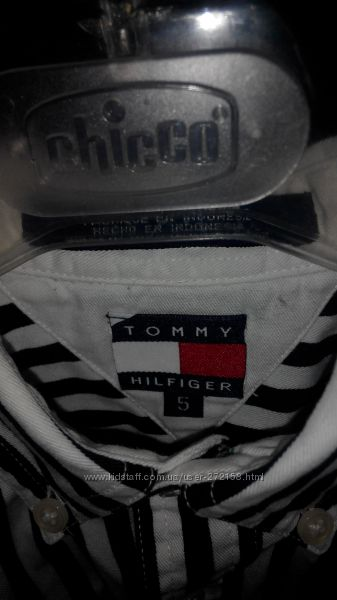 Рубашка Tommy Hilfiger 5 лет оригинал